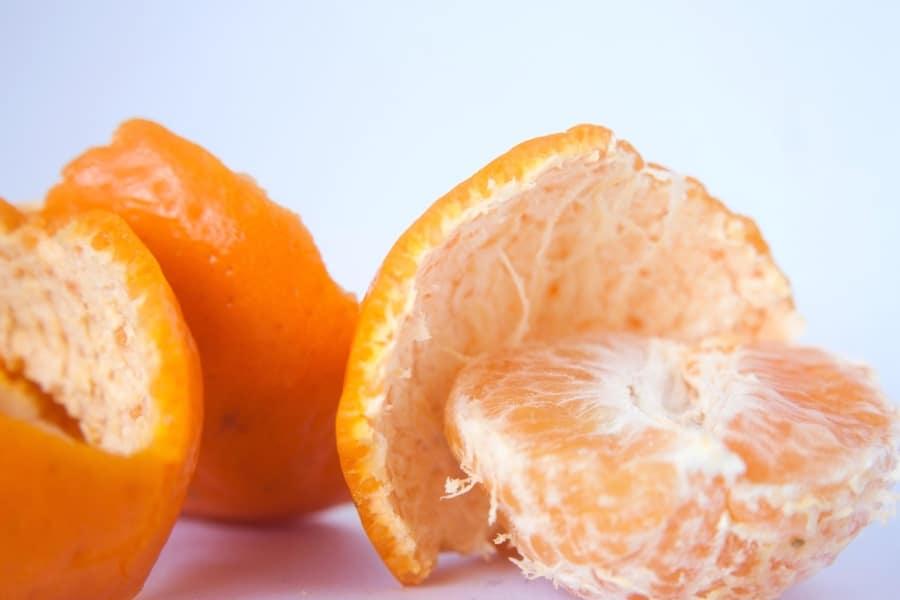 orange écorces