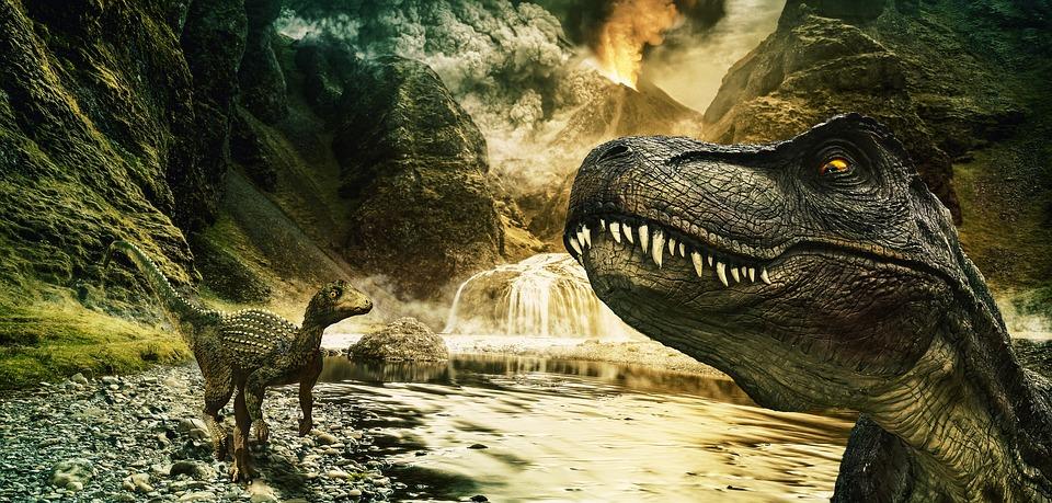 Pourquoi les dinosaures ont-ils disparu de la surface de la Terre ? By Clara Zerbib Dinosaur-3489304_960_720