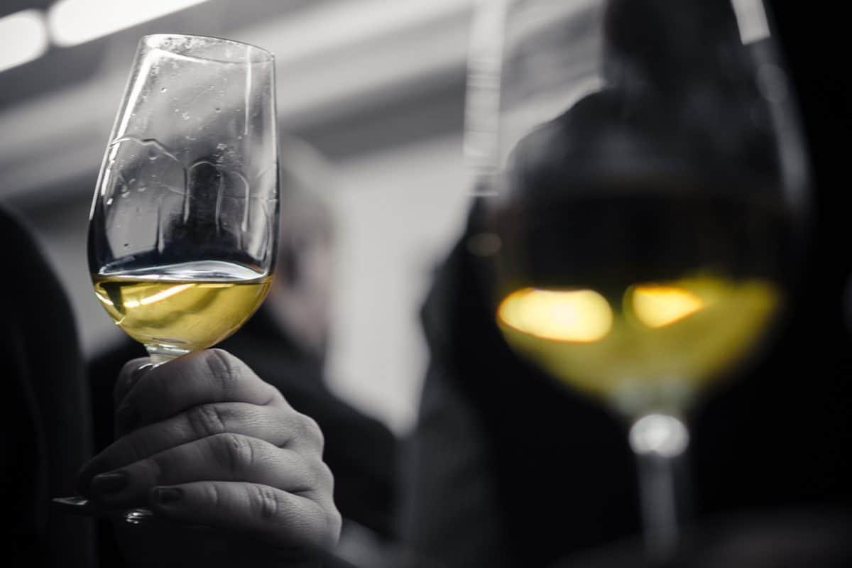 vin blanc alcool