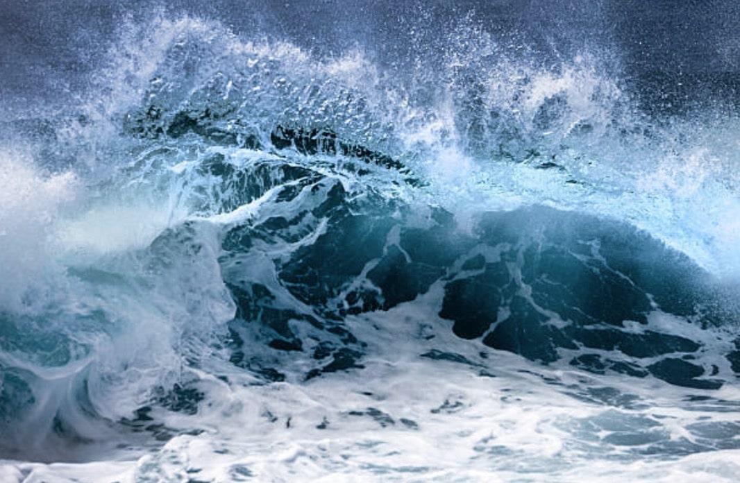 vagues tempête