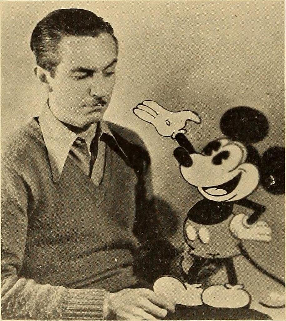 Walt Disney et Mickey, sa création