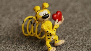 jouet marsupilami coeur